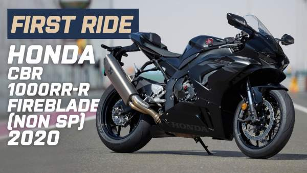 Honda CBR1000RR-R Fireblade First Ride Thumbnail
